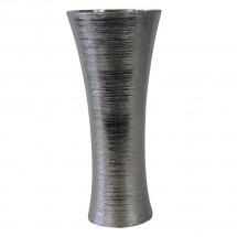 Keramická váza VK64 stříbrná (35 cm)