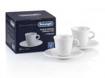 Keramický hrníček na espresso DeLonghi DLSC308, 2ks