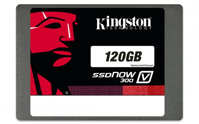 Kingston 120GB SSDNow KC300 SATA 3 2.5 (7mm height)
