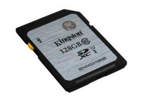 Kingston 128GB SDXC Class10 UHS-I až 45MB/s (SD10VG2/128GB) OBAL