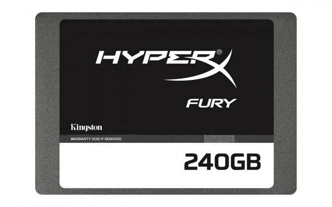 "Kingston 240GB HyperX FURY SSD SATA 3, 2.5"""