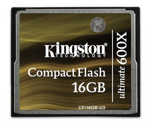 Kingston CompactFlash 16GB - U3