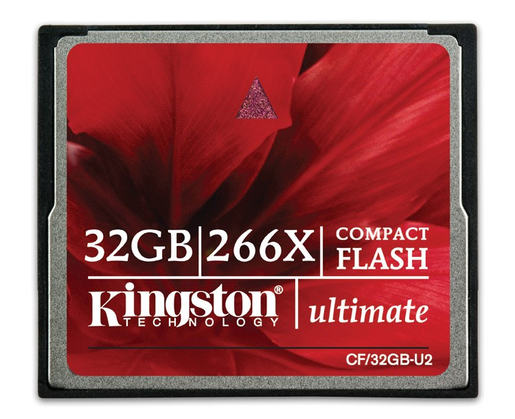 Kingston CompactFlash 32GB - U2