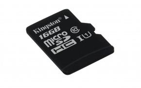 Kingston Micro SDHC 16GB Class 10 UHS-I SDC10G2/16GBSP