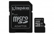 Kingston Micro SDHC Canvas Select 16GB + SD adaptér  SDCS/16GB