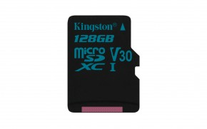 Kingston Micro SDXC Canvas Go! 128GB 90MB/UHS-I U3SDCG2/128GBSP