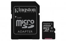 Kingston Micro SDXC Canvas Select 256GB + SD adaptérSDCS/256GB