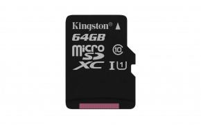 Kingston Micro SDXC Canvas Select 64GB 80MB/s UHS-I SDCS/64GBSP