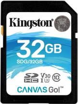 Kingston SDHC Canvas Go! 32GB, UHS-I U3 SDG/32GB