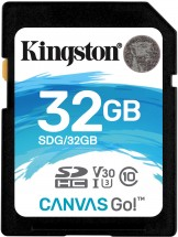Kingston SDHC Canvas Go! 32GB, UHS-I U3  SDG/32GB ROZBALENO
