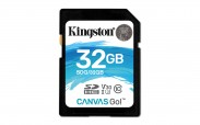 Kingston SDHC Canvas Go! 32GB, UHS-I U3  SDG/32GB