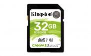 Kingston SDHC Canvas Select 32GB 80MB/s UHS-I SDS/32GB ROZBALENO