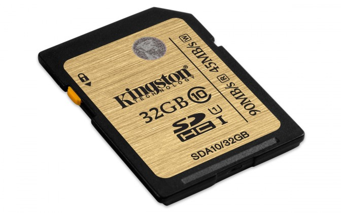 Kingston SDHC Ultimate 32GB Class 10 UHS-I
