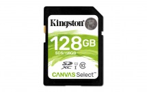 Kingston SDXC Canvas Select 128GB 80MB/s UHS-I  SDS/128GB