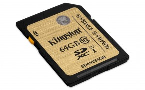 Kingston SDXC Ultimate 64GB Class 10 UHS-I