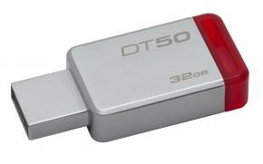 Kingston USB flash disk DataTraveler 50 32GB (DT50/32GB) červený