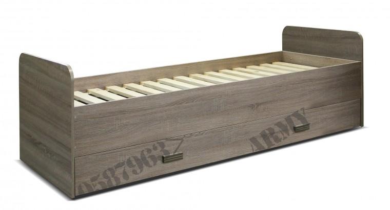Klasická postel Army - Postel 15 (lanýž)