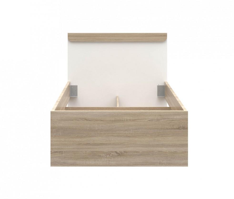 Klasická postel Lace LCXL091(dub sonoma)
