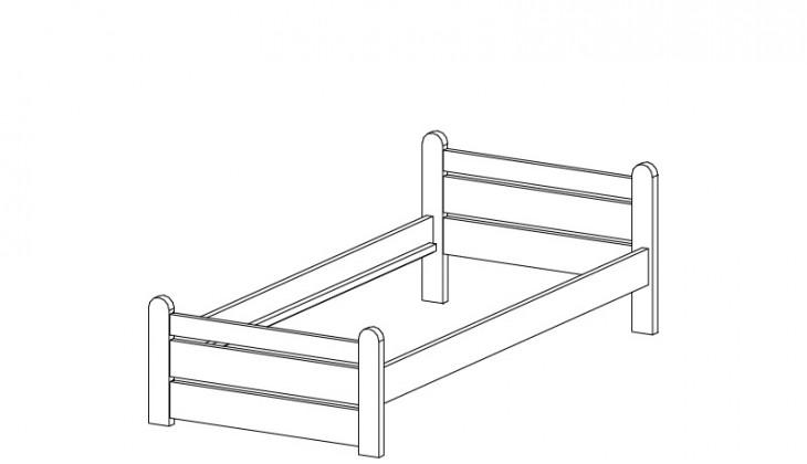 Klasická postel Nový klasik 19