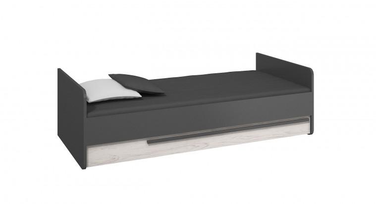Klasická postel Postel Trend (grafit/borovice andersen)