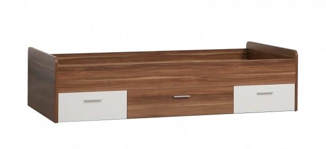 Klasická postel Quadro - 90x200 cm (Javor/bílá)