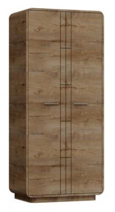 Klasická skříň Acerro - Šatní skříň (dub lefkas)