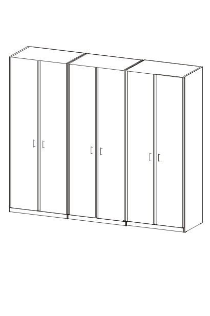 Klasická skříň Cassanova (buk 07)