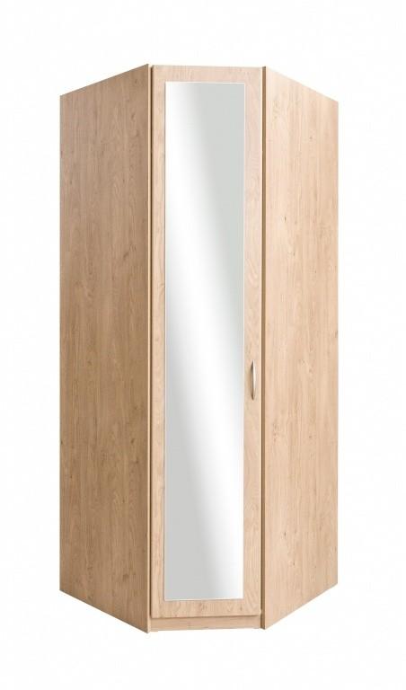 Klasická skříň Cassanova (dub sukatý/zrcadlo)