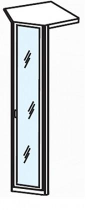 Klasická skříň Cassanova R 1 DV 1Z