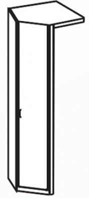 Klasická skříň Cassanova R 1 DV+RVB