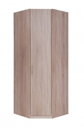 Klasická skříň Cassanova - Šatní skříň rohová (1x dveře)