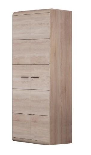 Klasická skříň Link - Šatní skříň (dub sonoma)