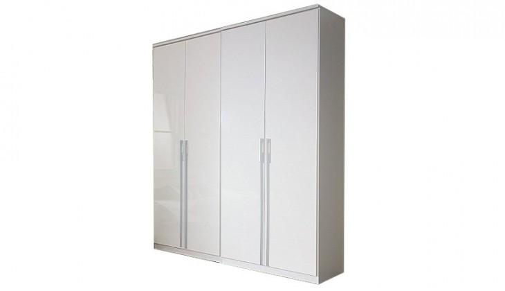 Klasická skříň Modena B - Skříň šatní, 4x dveře