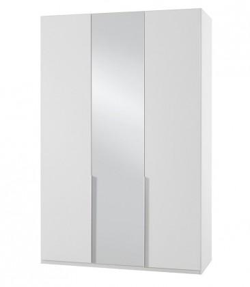 Klasická skříň NewYork29 - Skříň, 135/208/58 (alpská bílá)