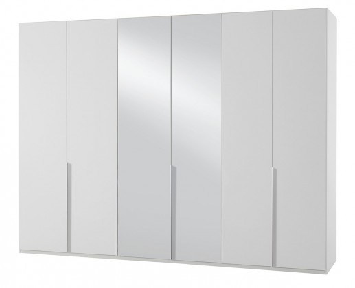 Klasická skříň NewYork32 - Skříň, 270/208/58 (alpská bílá)