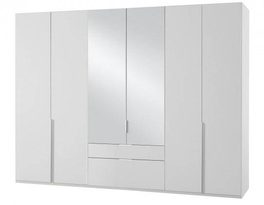 Klasická skříň NewYork40 - Skříň, 270/208/58 (alpská bílá)