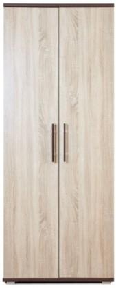 Klasická skříň Oliver, 2x dveře (Wenge/dub sonoma)