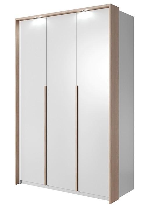 Klasická skříň Xelo - Skříň 140,8x215,5x65 cm bílá