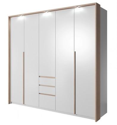 Klasická skříň Xelo - Skříň 229,4x215,5x65 cm bílá