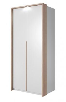 Klasická skříň Xelo - Skříň 96,5x215,5x65 cm bílá