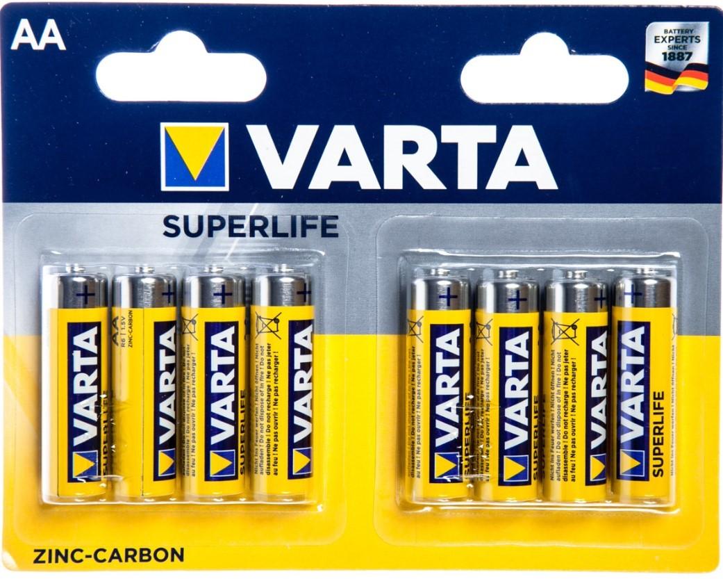 Klasické baterie Baterie VARTA Superlife AA 8ks