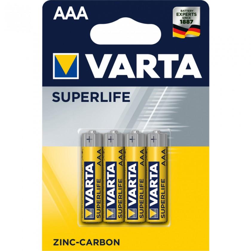 Klasické baterie Baterie VARTA Superlife AAA 4ks