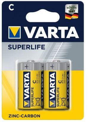 Klasické baterie Baterie Varta Superlife C, 2ks