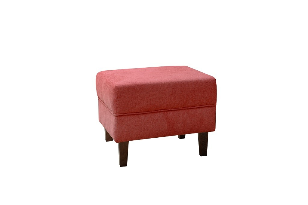 Klasické taburety Taburet Casis červená bez ÚP