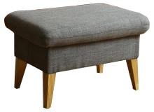 Klasické taburety Taburet Lotta obdélník šedá