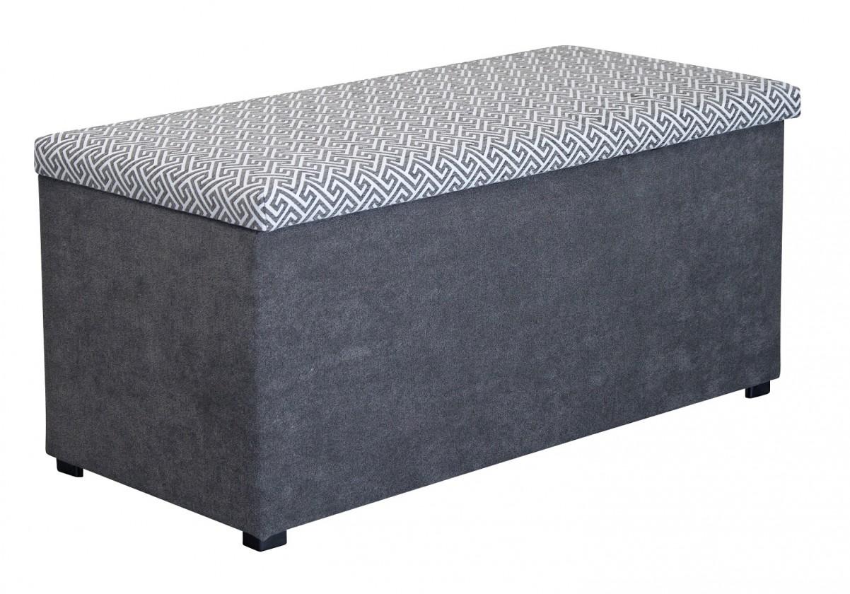 Klasické taburety Taburet Sonia (nero/alfa stone)