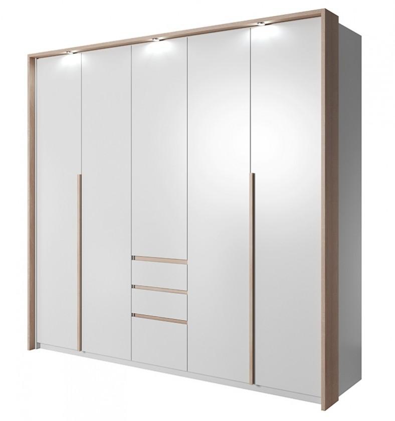 Klasické Xelo - Skříň 229,4x215,5x65 cm bílá