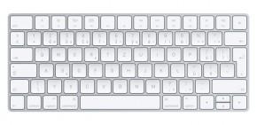 Klávesnice Apple Magic, CZ, bílá