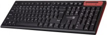 Klávesnice Connect IT CKB-3000, bezdrátová, nízké klávesy, černá
