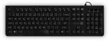 Klávesnice CONNECT IT, kancelářská, CZ + SK verze, černá